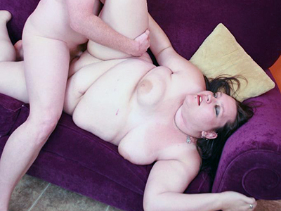 Lusty large hottie Menoly enjoys having her juicy twat split and pounded with a hard and meaty cock