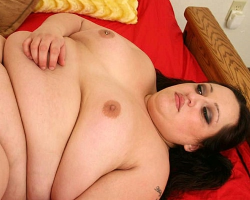 Flabby fatty bending over for a doggy style drilling